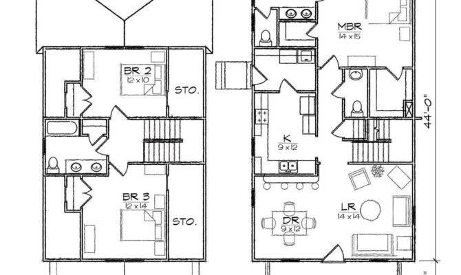 Bungalow House Plans Garage Home Deco
