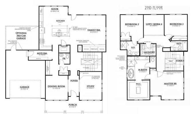 Bungalow House Plans Home Floor