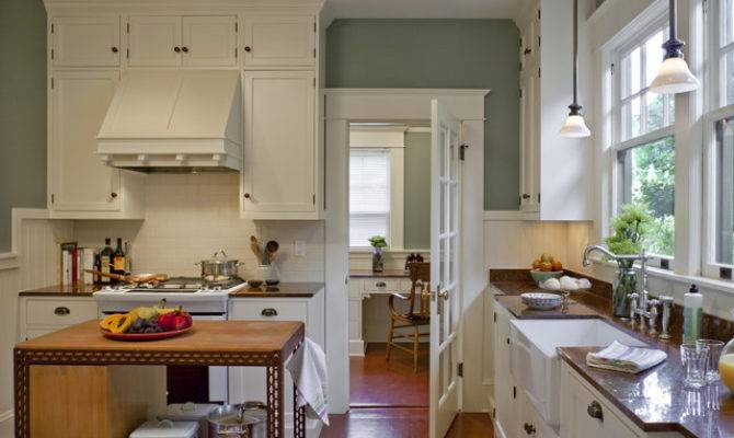 Bungalow Kitchen Powrie Craftsman Portland