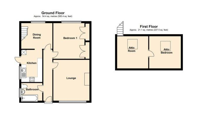 Bungalow Loft Conversion Floor Plans Thefloors