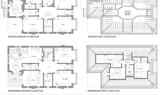 Bungalow Loft Floor Plans Ideas Architecture