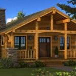 Bungalow Log Home Cabin Plans