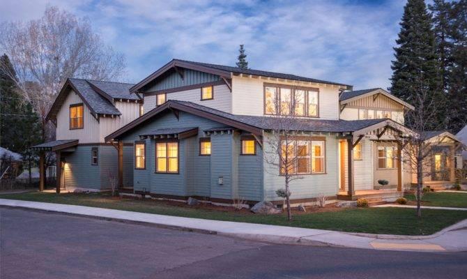 Bungalow Modern Craftsman Home Plans House Plan