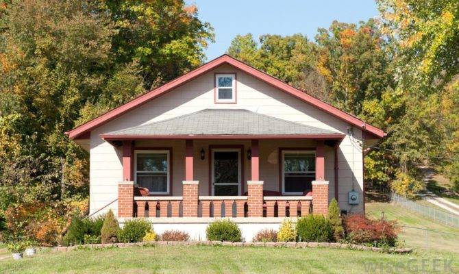 Bungalow Style Home Commonly Features Chimney