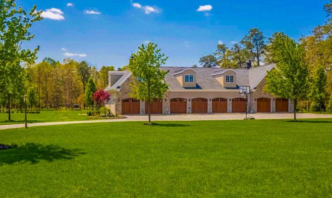 Burlington County Most Expensive Home Car Garage