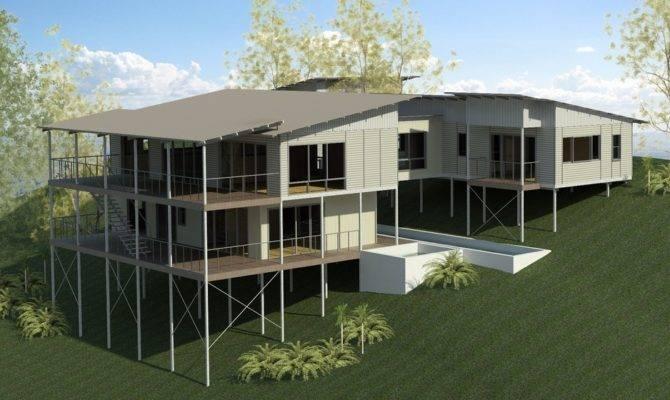 Bush Beach Homes Peregian Building Construction Sloping