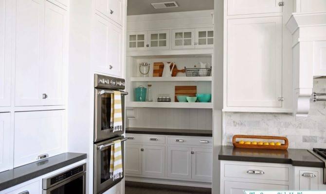 Butler Pantry Shelves Decorated Sunny Side Blog