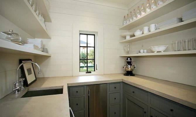 Butler Pantry Transitional Kitchen Har