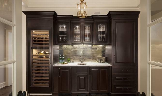 Butler Pantry Wet Bar Wine Beverage Refrigerators