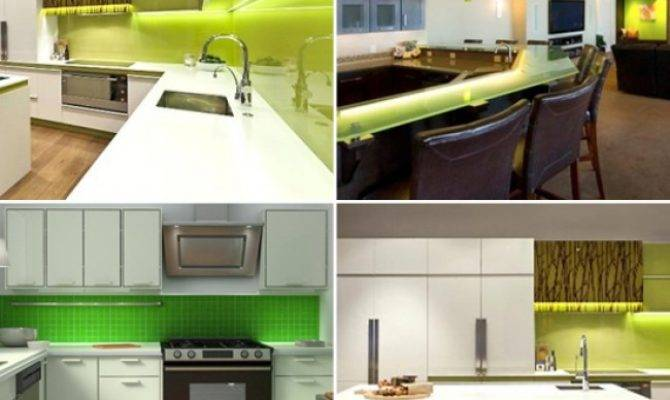 Buy Green Led Strip Light Kitchen Set Strictly