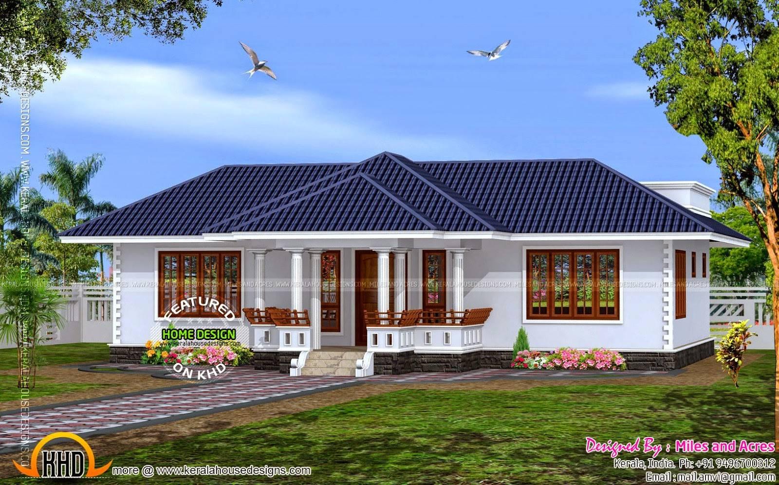 Buzz House Plan Single Floor Kerala Home Design House Plans 17079