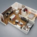 Cabin Bedroom Floor Plan Addition Plans