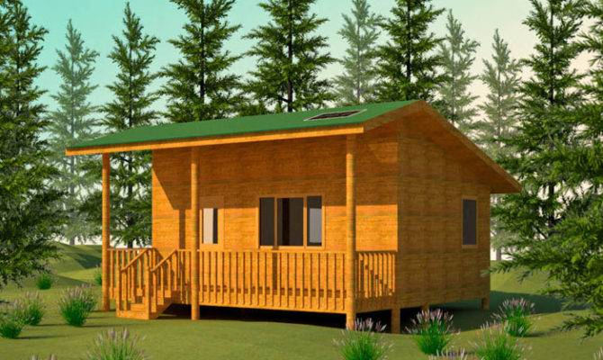 Cabin Building Plans Over Home