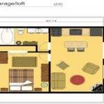 Cabin Floor Plans Loft Plan Garage