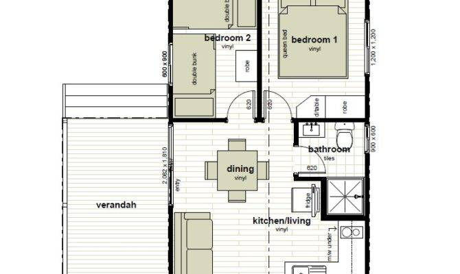 Cabin Floor Plans Oxley Anchorage Caravan Park