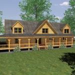 Cabin Home Plans Basement Second Sun