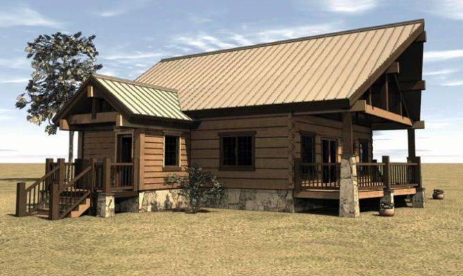 Cabin House Plan Covered Porch Maxhouseplans Home Plans