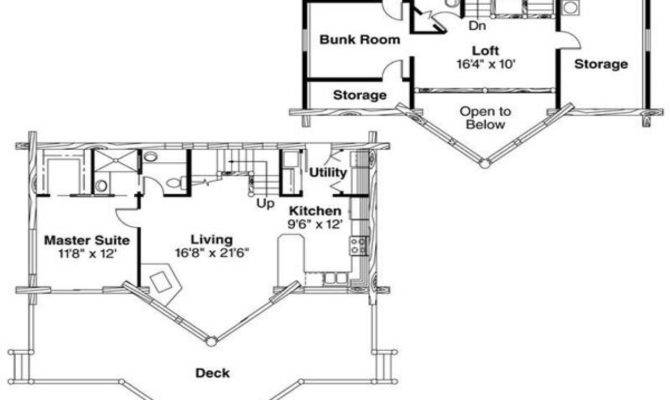 Cabin House Plans Layout
