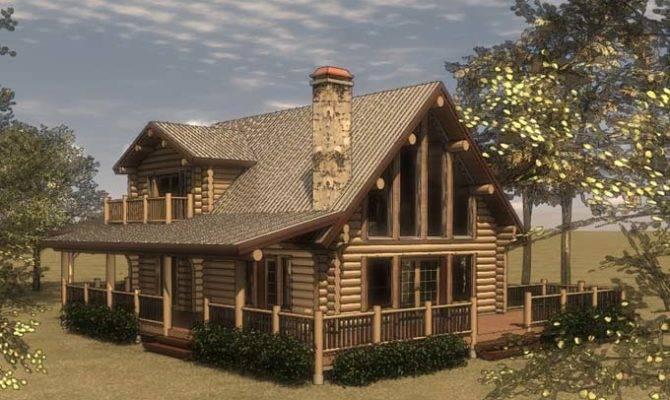 Cabin House Plans Loft Woodplans