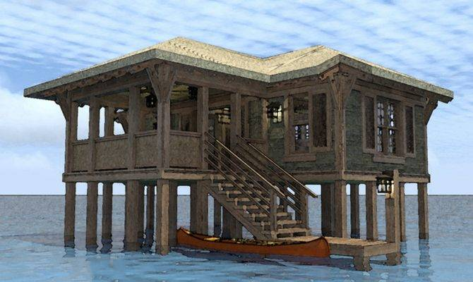 Cabin House Plans Stilts Quotes
