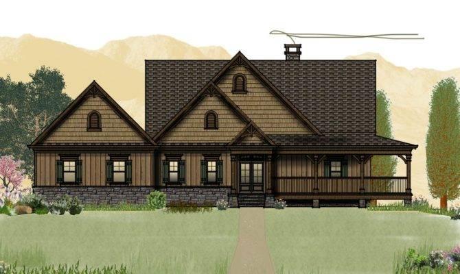 Cabin House Plans Wrap Around Porches