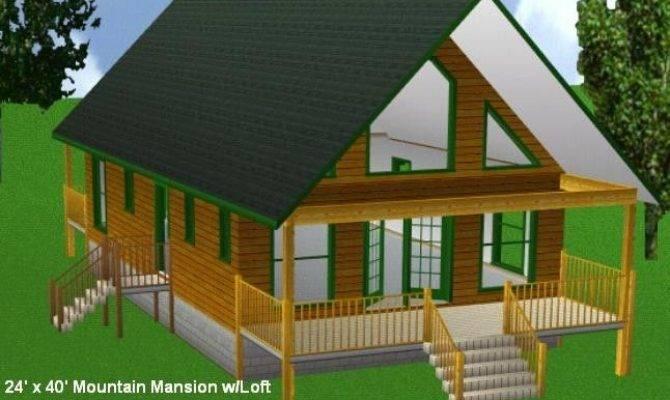 Cabin Loft Plans Package Blueprints Material