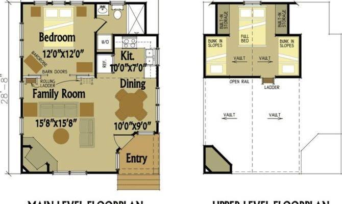 Cabin Plans Bedroom Maxhouseplans Floorplan Floor