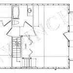 Cabin Plans Building Log Floor Plan