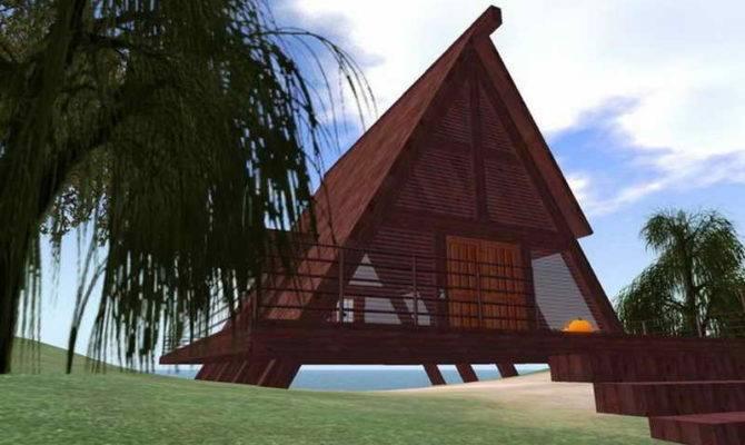 Cabin Plans Kits Log Small Floor Loft House Cabins Rustic