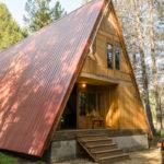 Cabin Rentals Door Wild Red Frame