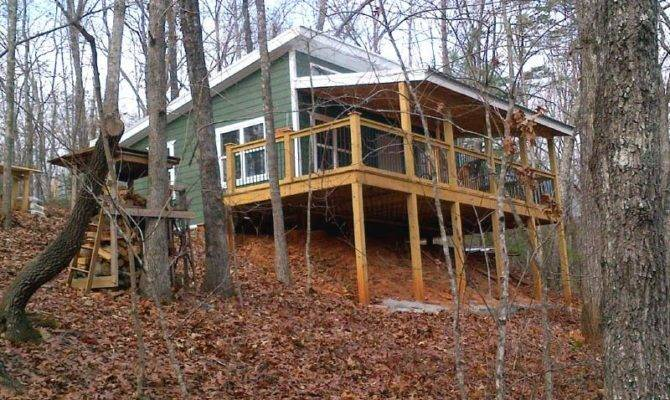 Cabin Shed Roof Design House Plans 20849