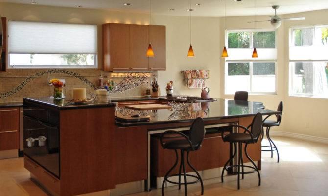 Cabinets Pendant Lights Level Island Designer Kitchens