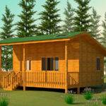 Cabins Building Plans Floor