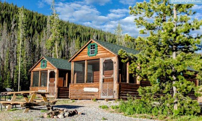 Cabins Gore Range Colorado Glamping
