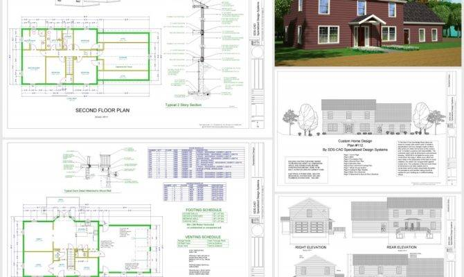 Cad House Plans Home Design Style