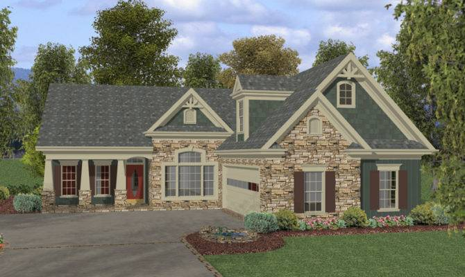 Cadley Rustic Ranch Home Plan House Plans More