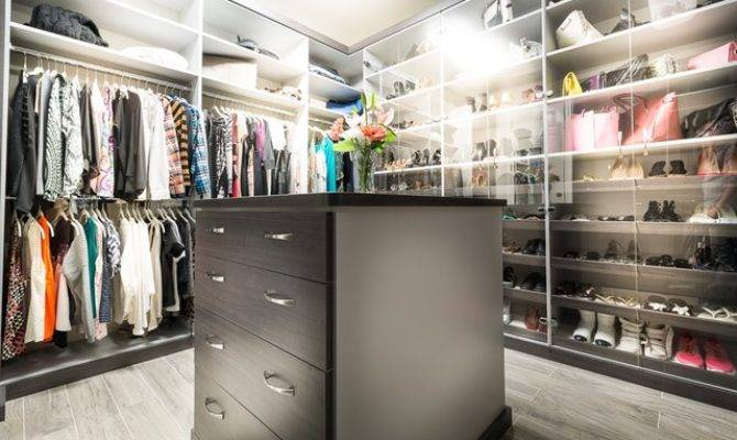 Calabasas His Hers Walk Closets Modern Closet