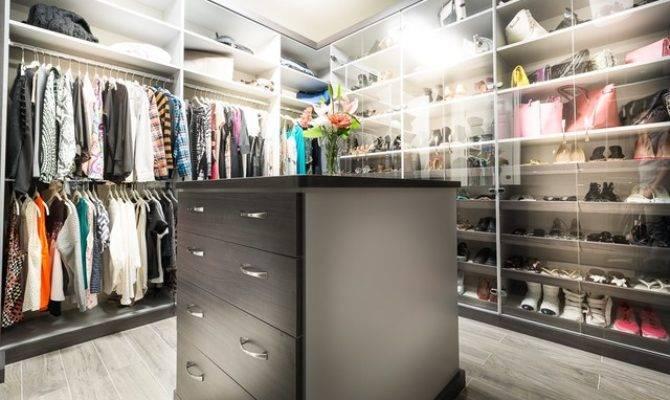 Calabasas His Hers Walk Closets Modern Closet