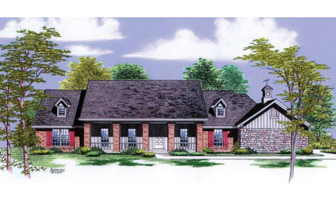 Calico Rock Ranch Home Plan House Plans More