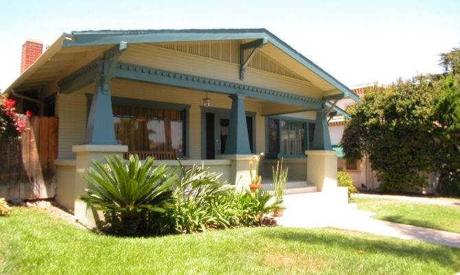 California Bungalow House Plans Over