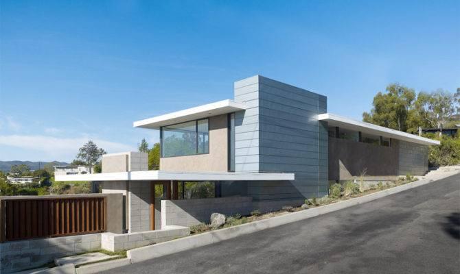 California Houses Contemporary Home House Design