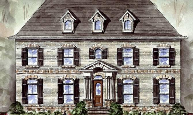 Cambridge Manor House Plan Plans Garrell