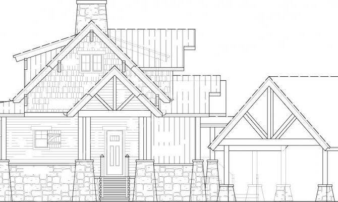 Camp Cullowee House Plans Home Archival Designs