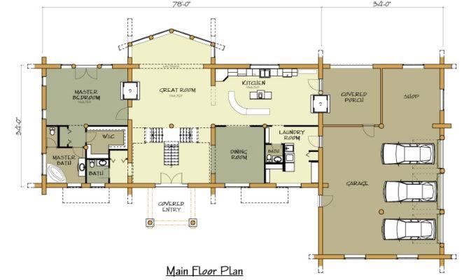 Can Main Floor Plan Loft