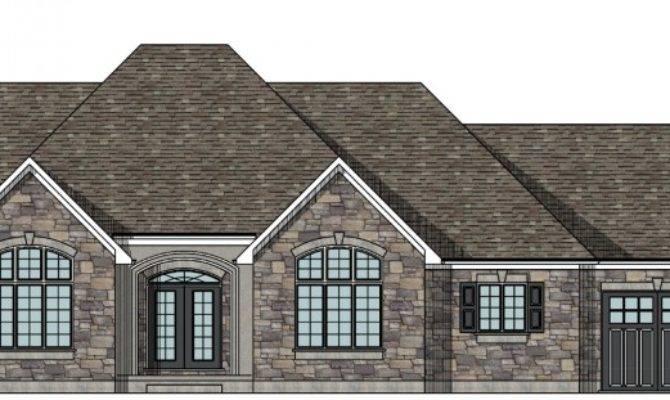 Canadian Raised Bungalow House Plans