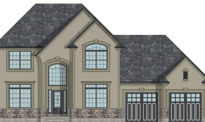 Canadian Unique House Plans Garage
