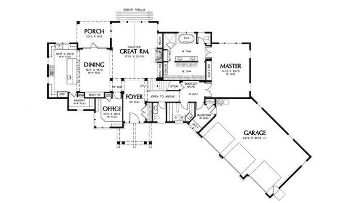 Canterville Craftsman Home Plan House Plans More