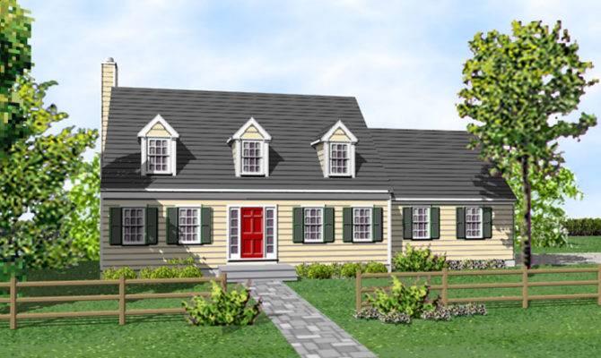 Cape Cod Dennis Home Plans Sale Original
