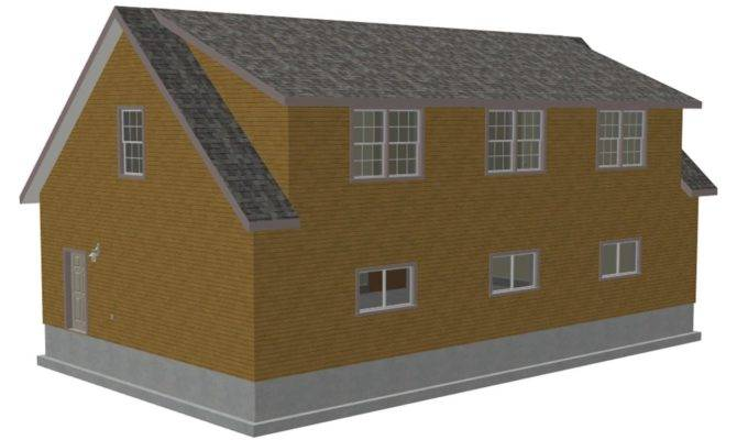 Cape Cod Garage Plan Over House Plans