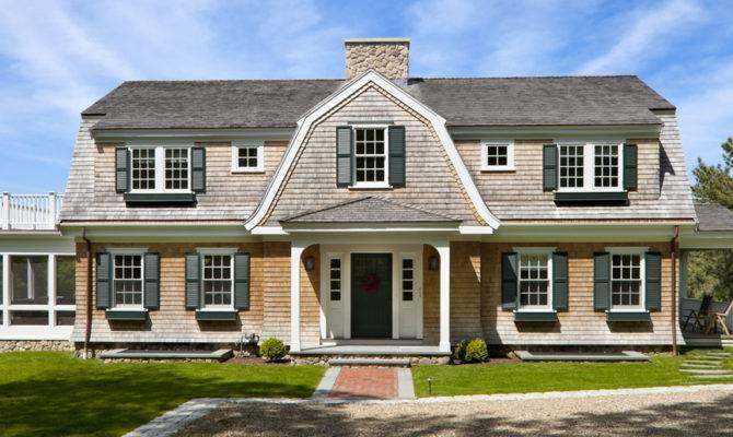 Cape Cod Home Gambrel Roof Pinterest